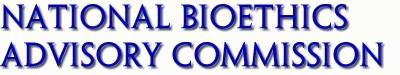 National Bioethics Advisory Commission
