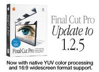 Final Cut Pro Update to 1.2.5