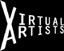 virtual artists' logo