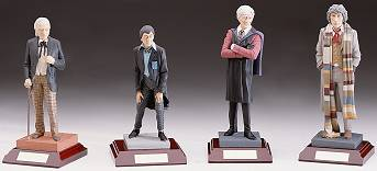 "We have painstakingly recreated ""The Doctors"" in cold cast porcelain..."