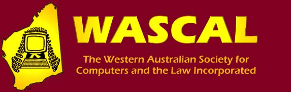 WA Society for Computers and the Law