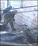 Jerusalem car bomb Feb. 2000