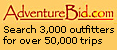 The largest online adventure travel directory and auction site
