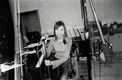 PJ Harvey in Studio
