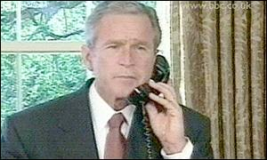 President Bush in Oval Office