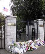 American embassy in Dublin