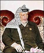 Yasser Arafat in Bahrain, 8 October