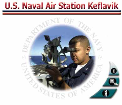 A picture of the U.S. Naval Air Station Internet Logo, a young sailor.