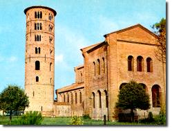 St. Apollinare in Classe built by Theodoric
