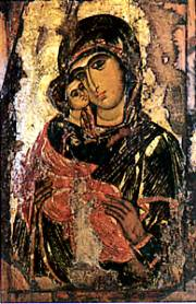 Virgin Mary from Church of St. George at the Ecumenical Patriarchate