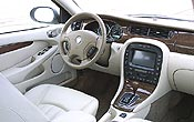 2002 Jaguar X-Type 2.5 - Interior