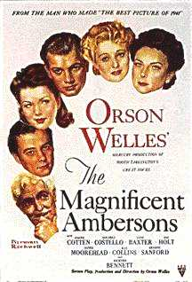 Magnificent Ambersons - poster