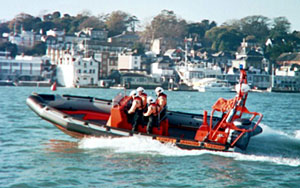 The new Cowes Inshore Lifeboat