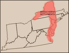The settlements of the Middle Adena correspond precisely to Heckewelder's accounts of the prehistoric Lenni Lenape
