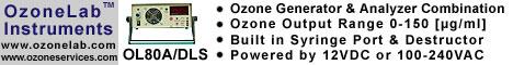 OzoneLab™ OL80A/DLS Ozone Generator with built-in Analyzer