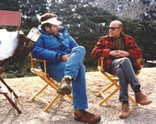 Reggie Bannister with Phantasm director Don Coscarelli