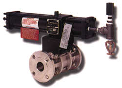 BC & C Series Carbon Steel/Stainless Steel w/Actuator