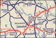 N.C. 264 and U.S. 264
