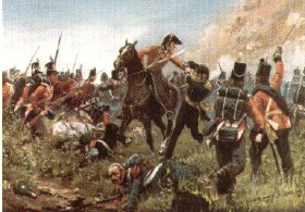 Capture of General Cambronne