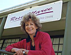 Rose-Maree Payne from the RoseMmaree Women's Lifestyle Centre celebrated 14 year in business on Wednesday, August 8