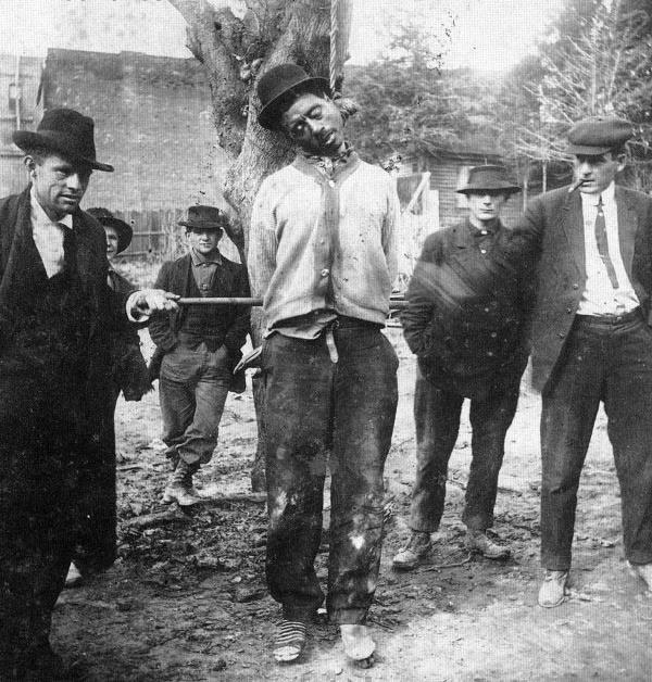 Unknown lynching victim, c. 1890, Arkansas