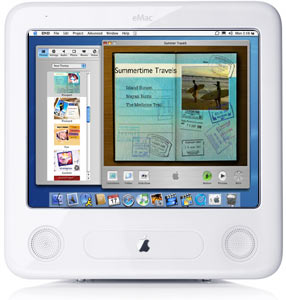 eMac and OS X and iDVD