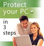 Protect your PC in 3 steps