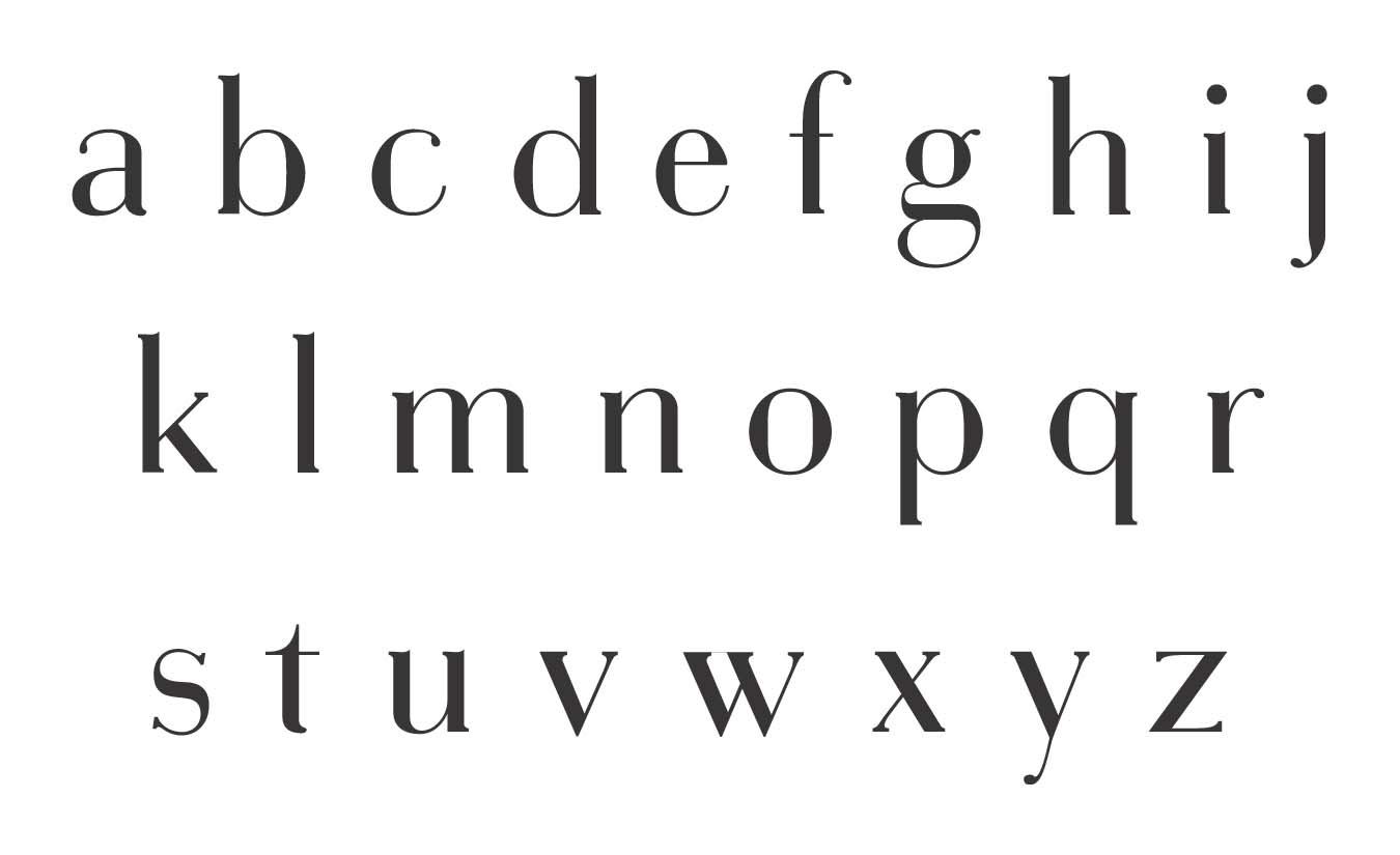 tribute typeface