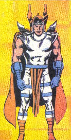 Hermod, Marvel's god of speed, is little more than an errand boy for the All-Father.  (Image Credit:  THOR: THE LEGEND 1, page 28.  Marvel Comics)