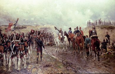 The French Guard at Waterloo