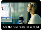 See the new Pepsi + iTunes ad