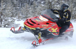 snowsled rental for lake gogebic