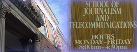 School of Journalism and Telecommunications Logo