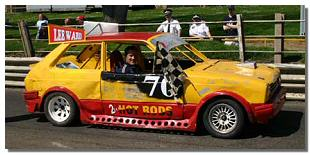 Picture of stock car at Barford Raceway