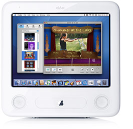 eMac and Mac OS X and iDVD