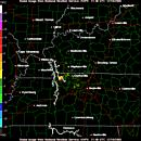 Fort Campbell radar image