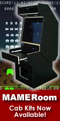 Build your own arcade cabinet with plans from MAMERoom.com!