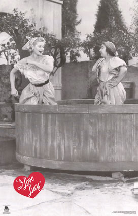 I love Lucy - Wine Pit