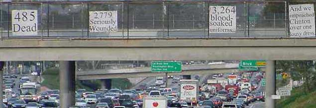 I-10 Los Angeles, December 15th 2003, Duration: 4+ hours