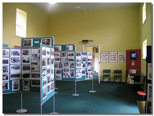 A view of the inside of the Gaunless Valley visitor centre