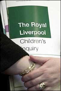The report in to the organ retention scandal at Alder Hey Hospital
