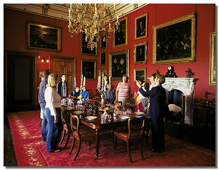 Picture of the inside of Raby Castle