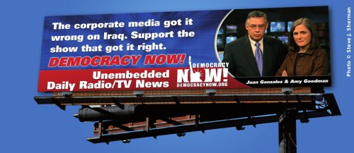 The corporate media got it wrong on Iraq. Support the show that got it right.
