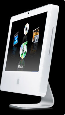 iMac G5. Front Row with Apple Remote. Built-in iSight Video Camera. 17- and 20-inch models from $1,299