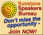 Click to contact Sunstone Speakers Bureau