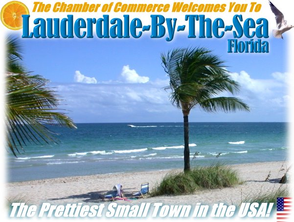Welcome to Lauderdale-By-The-Sea, Florida