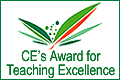 CE's Award for Teaching Excellence