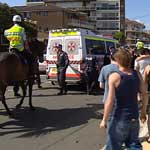 Shameful actions: Police Commissioner Ken Moroney has condemned the mob attacks.