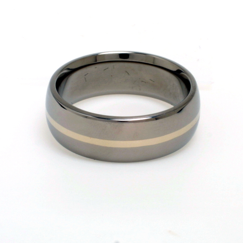 Buy These Titanium Rings because these Titanium Rings are Made of Strong Titanium with Inlays of Very Rare and Very Precious Noble Metals