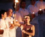 Photograph from the lighting ceremony of the Paralympic flame. © ATHOC/PHOTO:ANA/A. VLACHOS